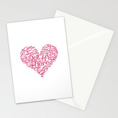 Get In My Heart Stationery Cards