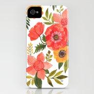 FLOWER POWER iPhone (4, 4s) Slim Case
