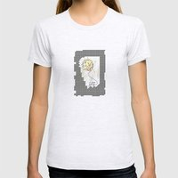 Joy Womens Fitted Tee Ash Grey SMALL