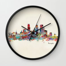 Minneapolis Minnesota Sk… Wall Clock