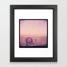 Life line Framed Art Print
