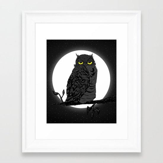 Night Owl V. 2 Framed Art Print