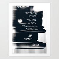 Truths Art Print