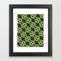 Nike Flyknit Print Design  Framed Art Print