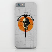 walking dead iPhone & iPod Cases featuring Dead Walking by Green'n'Black