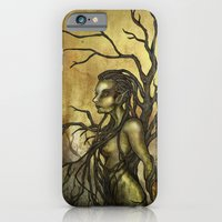 iPhone & iPod Case featuring Dark Dryad by Alex Kujawa