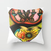 Happy Valentine's Day :) Throw Pillow