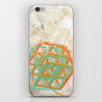 Geometric Grunge One iPhone & iPod Skin