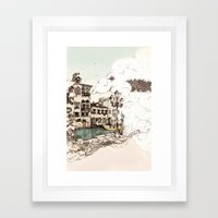 Vivaldi's morning in Venice Framed Art Print