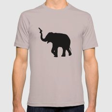 elephant Mens Fitted Tee Cinder SMALL