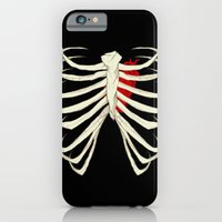 skeleton iPhone & iPod Cases featuring Skeleton by Abigail Larson