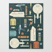 To Boldly Go... Canvas Print
