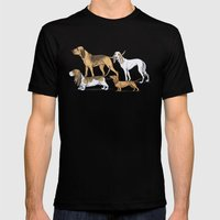 Nosy Scenthounds Mens Fitted Tee Black SMALL