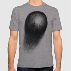 LUST Mens Fitted Tee Athletic Grey SMALL
