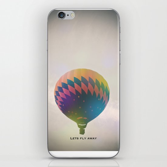 Lets Fly Away iPhone & iPod Skin