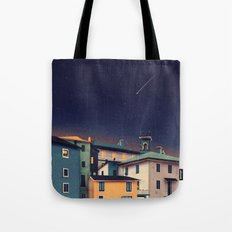 Castles at Night Tote Bag