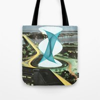 Brave Architecture Tote Bag