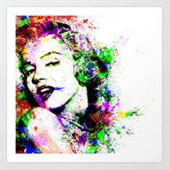 Art Print featuring Monroe. by David
