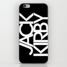 Classic : Jack Kirby Black  iPhone & iPod Skin