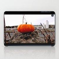 Urban grit pumpkin iPad Case
