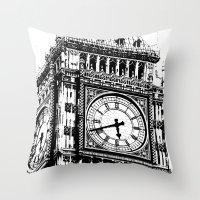 Big Ben 2 - London Series Throw Pillow