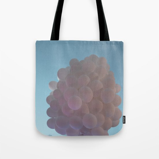 up up and away - balloons Tote Bag