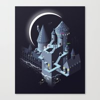 Monumental Harry Canvas Print