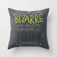 Breakfast Club: We're All Pretty Bizarre Throw Pillow