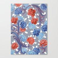 japanese blossom Canvas Print