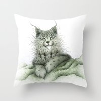 The West Wind II Throw Pillow
