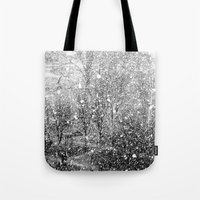 Snow in early fall(3) Tote Bag