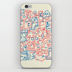 Tribal Animals iPhone & iPod Skin