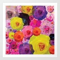 Rosette Art Print
