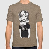 Molly (Every Man Has One) Mens Fitted Tee Tri-Coffee SMALL