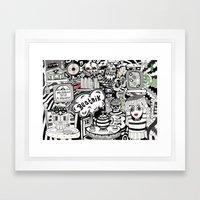 Beatnik Framed Art Print