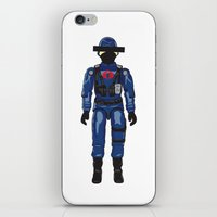 Anonymous Disposables #2 iPhone & iPod Skin