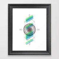 B.G Geo Framed Art Print