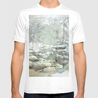 poesia romanesca  Mens Fitted Tee White SMALL