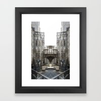 under passer Framed Art Print