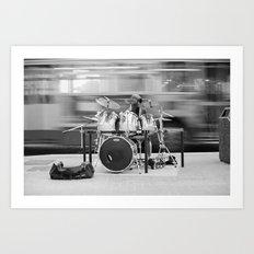Varon Andel Drummer Art Print