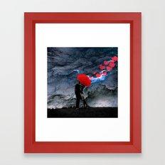 Love Valentine's Day Framed Art Print