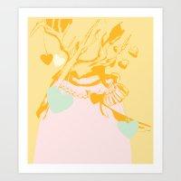 King Of Hearts Art Print