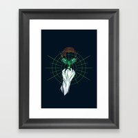Brightest Light Framed Art Print