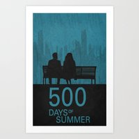 500 Days Of Summer Poste… Art Print