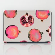 Pomegranate Pattern iPad Case