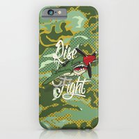 iPhone & iPod Case featuring Rise and Fight by Joshua T.Pearson