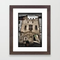 Cistercian Crumble Framed Art Print