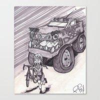 Truck of Doom Canvas Print