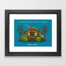 Share in an Adventure Framed Art Print