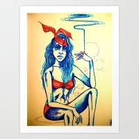 Hot Blunt Art Print
